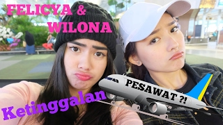 Video FELICYA ANGELLISTA #VLOG- FELI WILONA KETINGGALAN PESAWAT? MP3, 3GP, MP4, WEBM, AVI, FLV April 2019