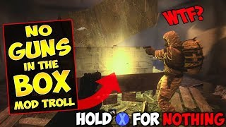 Video NO WEAPON'S IN THE MYSTERY BOX MOD!! (Zombie Mod Trolling!) MP3, 3GP, MP4, WEBM, AVI, FLV September 2019