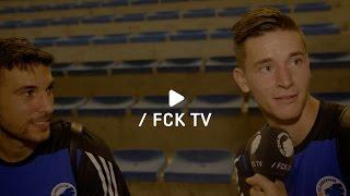 Andrija Pavlovic og Benjamin Verbic var ellevilde efter den samlede sejr over APOEL. Hør dem fortælle om følelsen - og hvem, de...