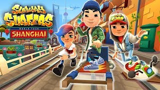 It's Subway Surfers World Tour 2017 Shanghai. Download Subway surfers for free on Android, iOS, Windows 10 and Kindle Fire if you like this android games 2017 gameplay , please click on the like button and share the video!Subway Surfers World Tour 2017 Shanghai:★ Go to China on the Subway Surfers World Tour★ Experience amazing gardens and grand shopping malls in vibrant Shanghai★ Team up with Lee, the streetwise street performer, and unlock his new Outfit★ Rush through the train traffic on the quirky Rickshaw board★ Find beautiful fans on the tracks to win great Weekly Hunt prizesGAME INFO:DASH as fast as you can!DODGE the oncoming trains!Help Jake, Tricky & Fresh escape from the grumpy Inspector and his dog.- Grind trains with your cool crew!- Colorful and vivid HD graphics!- Hoverboard Surfing!- Paint powered jetpack!- Lightning fast swipe acrobatics!- Challenge and help your friends!A Universal App with hd optimized graphics for retina resolution.Presented by Kiloo Games and Sybo Games.Don't forget to Subscribe,Like and comment