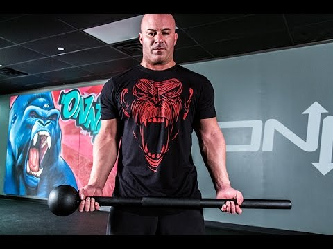 Defranco Fitness Tips: 5 Steel Mace Exercises to Replace your Barbell