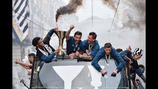 Video The Juventus #MYTH celebrations take to the streets of Turin! MP3, 3GP, MP4, WEBM, AVI, FLV Juni 2018
