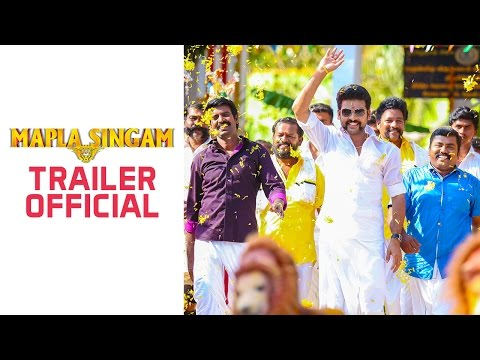 Watch Mapla Singam - Official Trailer in HD
