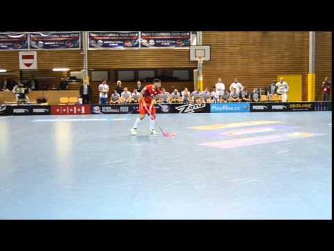 Gól na 2:1 Česko x Finsko