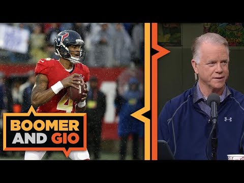 Video: Deshaun Watson on his play in the NFL Playoffs | Boomer and Gio