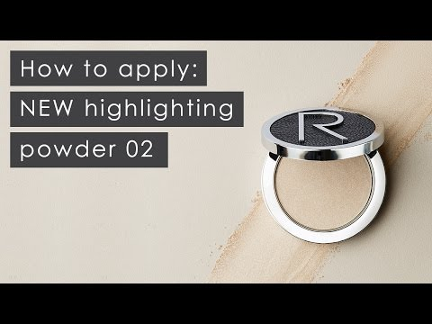 How to apply: NEW highlighting powder 02