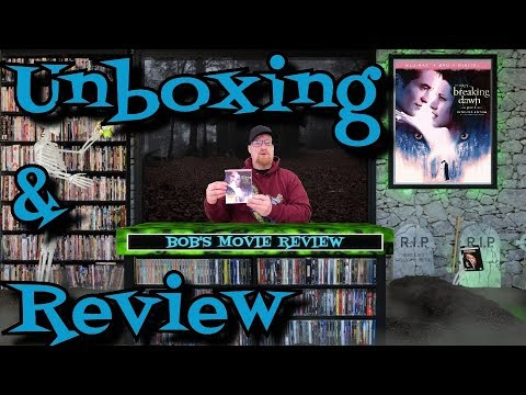 The Twilight Saga: Breaking Dawn Part 1 Blu Ray Unboxing And Review - Adventure - Drama - Fantasy