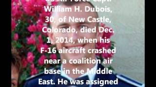 New Castle (CO) United States  city photo : Tribute To Our Fallen Soldiers - US Air Force Capt. William H. Dubois, 30, of New Castle, CO.