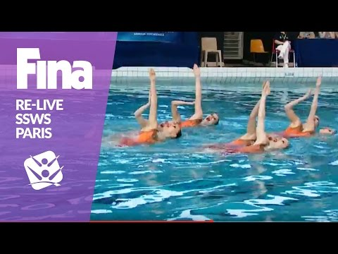 LIVE | Free Team | FINA Synchronised Swimming World Series 2017 - Paris