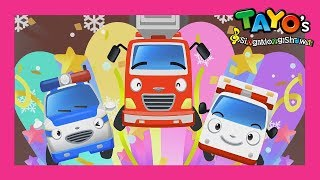 Video Tayo The brave cars and it's Christmas! l Tayo's Sing Along Show 1 l Tayo the Little Bus MP3, 3GP, MP4, WEBM, AVI, FLV Maret 2019