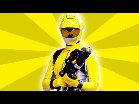 Power Rangers Official   Meet the Yellow Ranger   Throwback Thursday