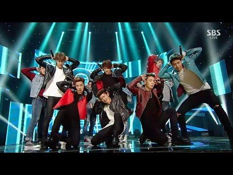 iKON - '덤앤더머(DUMB&DUMBER)' 0110 SBS Inkigayo