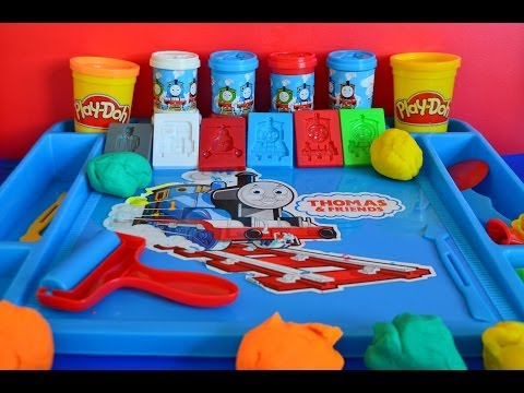 thomas - Play-doh Thomas and Friends Molds Thomas The Tank Percy Playdough Activities Play-doh Amazing Wow today we take a look at thomas the tank engine and friends ...