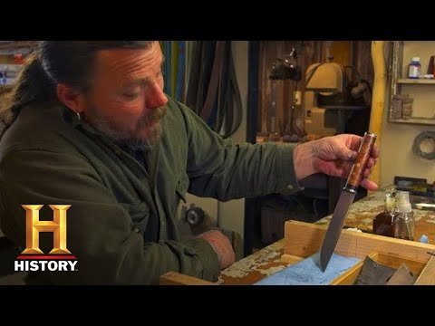 Mountain Men: Forging an Ozark Steel Blade (Season 8) | History