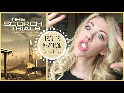 The Scorch Trials | TRAILER REACTION