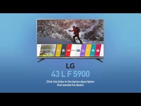 LG 43LF5900 Full HD  Smart LED TV - 43inch Class // Full Specs Review  #LGTV