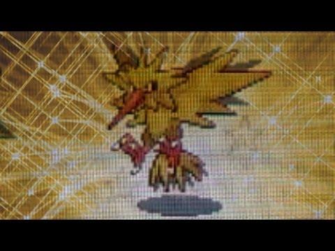 Shiny Zapdos! (LIVE!) After 164 SR's! Pokemon Fire Red