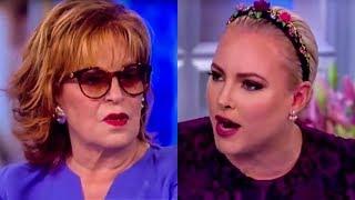 Meghan McCain Calls Joy Behar A B**** During View Meltdown