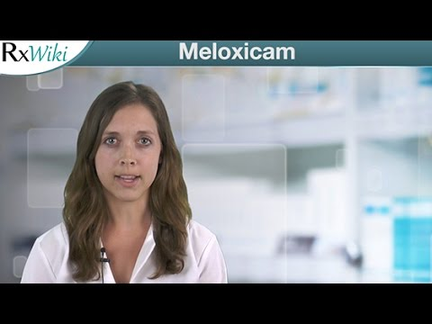 Meloxicam To Relieve Symptoms of Arthritis - Overview