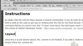 קורס דרימוויבר 5.5 בניית אתרים למתחילים שיעור 1