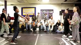 Harry Popper & Evion vs Nasty Yana | Hiphop & Popping Battle | Rain Spring Jam 2017