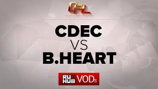 Bheart vs CDEC, game 1
