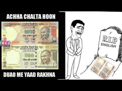Video 1000 & 500 Rs Note Banned Matam  [Acha Chalta Hun Dua Main Yaad Rakhna] | Funny Indian Engineer| download in MP3, 3GP, MP4, WEBM, AVI, FLV January 2017