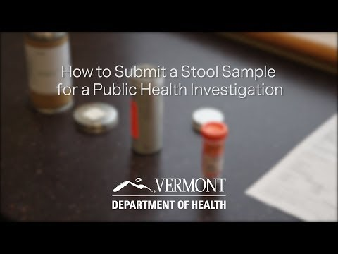 How to Submit a Stool Sample for a Public Health Investigation