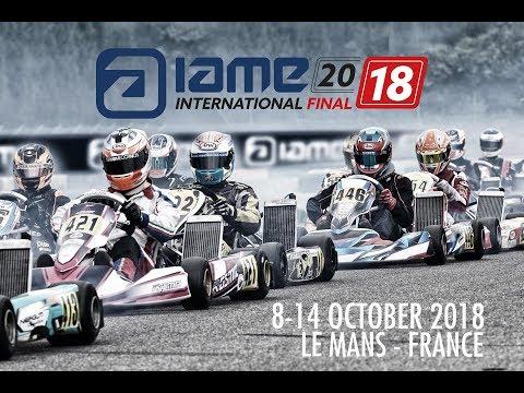 IAME International Final 2018 - Le Mans Sunday
