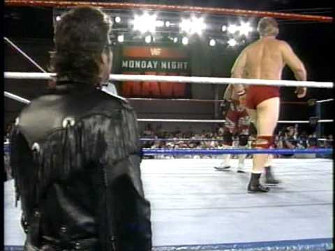 WWF IC Belt Match: HBK Shawn Michaels (w/ Diesel) vs. Bob Backlund