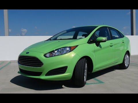 2014 Ford Fiesta 1.0L EcoBoost Turbo 0-30 MPH First Drive Review