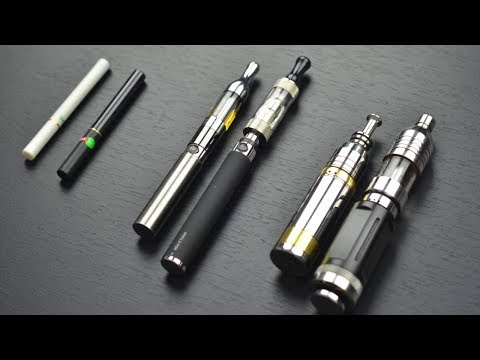 Ecig Mods - Types of electronic cigarettes tutorial. This video compares the different types of ecigs and vaporizers. It covers cartomizers, atomiziers, eGo ecigs (vape ...