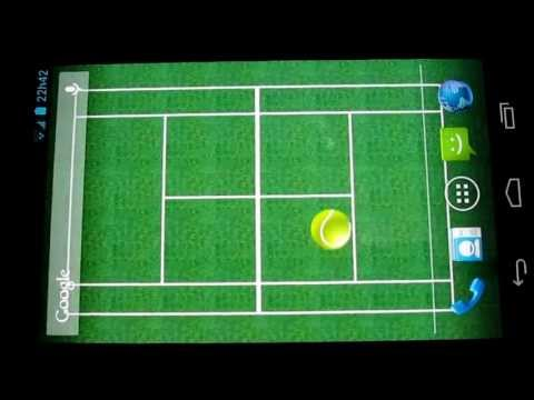 Video of Tennis Bounce LiveWallpaper