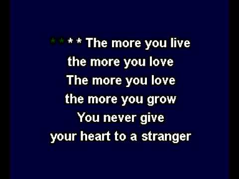The More You Live, The More You Love - A Flock Of Seagulls_KARAOKE