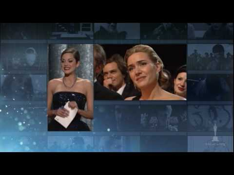 Academy Awards - Kate Winslet winning the Best Actress Oscar® for her performance in