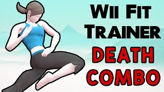 Wii Fit Trainer Death Combo! (My Smash Corner)