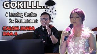Video CALON KUAT JUARA !!! 6 Standing Ovation 3X Beruntun : Selfi - Cinta Rahasia | D'Academy Asia 4 MP3, 3GP, MP4, WEBM, AVI, FLV November 2018