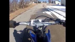 2. 2009 Yamaha TT R230 Test Ride #0314 MPG