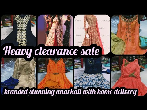 Adaa| heavy clearance sale| stunning designer branded anarkali|online shopping available