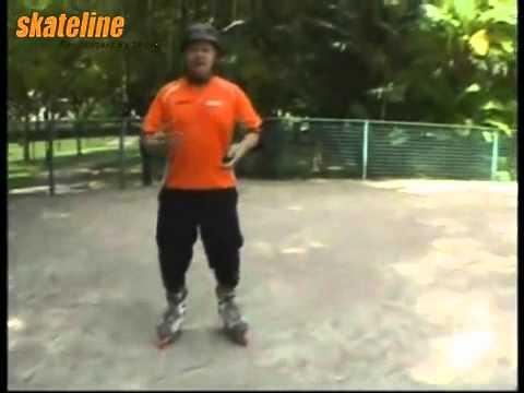 Kỹ thuật trượt patin lùi, trượt patin ngược