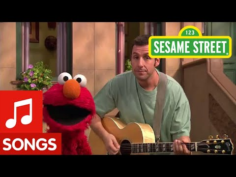 Sesame Street - Adam Sandler - A Song About Elmo
