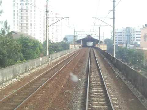 Railway Kereta Api : Locomotive Cab Ride Jatinegara to Gambir