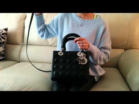 Lady Dior bag review Christian Dior bag