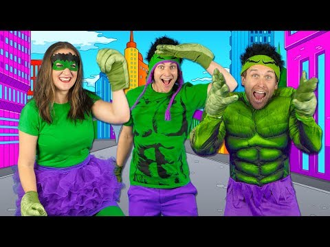 Kids Superhero Song  - Let's Be Superheroes   Action Songs for Kids - Bounce Patrol - Thời lượng: 3 phút, 45 giây.