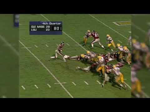 Flashback Friday: Ole Miss vs. LSU, 1999