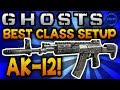 "Ghosts: BEST CLASS SETUP - ""AK-12"" (Aggressive Assault) - Call of Duty: Ghost Gameplay"