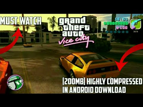 Gta Vice City Apk Data Highly Compressed Psp