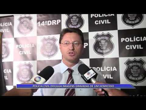 JATAÍ | Polícia Civil divulga vídeo de homicídio