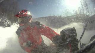 9. GoPro HD2 - 47 NORD EXPEDITIONS - ARCTIC CAT BEARCAT in deep snow