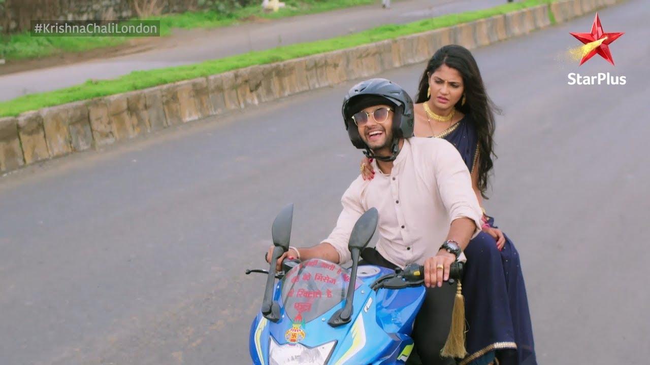 Krishna Chali London   Radhe & Krishna's Bike Ride